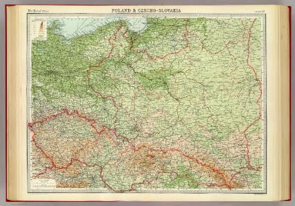 Poland & Czecho-Slovakia.