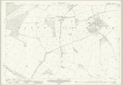 Oxfordshire VII.16 (includes: Barton on the Heath; Chastleton; Great Wolford; Little Compton) - 25 Inch Map