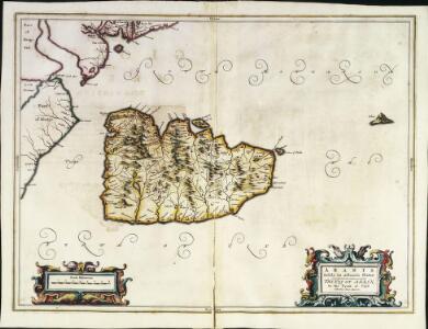 Arania insula in æstuario Glottæ