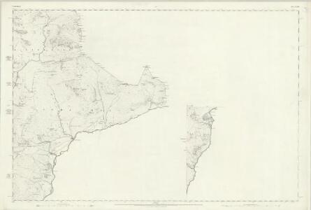 Cumberland LXXX (inset LXXXIV) - OS Six-Inch Map