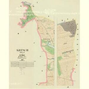 Krtsch (Krcz) - c3545-1-001 - Kaiserpflichtexemplar der Landkarten des stabilen Katasters
