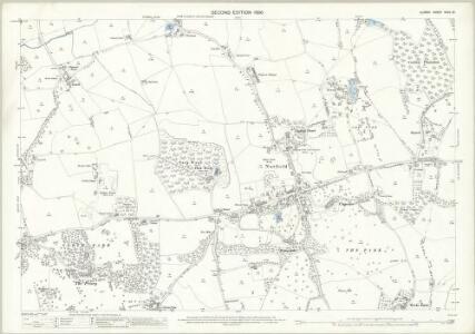 Surrey XXVII.13 (includes: Nutfield) - 25 Inch Map