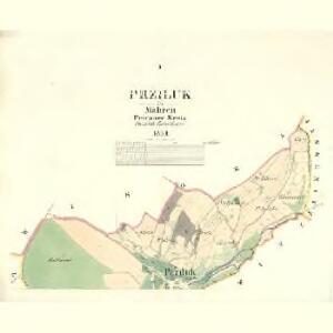 Prziluk - m2467-1-001 - Kaiserpflichtexemplar der Landkarten des stabilen Katasters