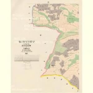 Budietitz - c0633-1-003 - Kaiserpflichtexemplar der Landkarten des stabilen Katasters