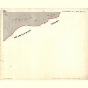 Chodenschloss - c7957-1-013 - Kaiserpflichtexemplar der Landkarten des stabilen Katasters