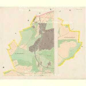 Nettrowitz - c5078-1-002 - Kaiserpflichtexemplar der Landkarten des stabilen Katasters