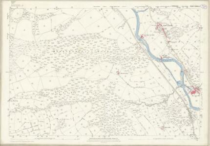 Yorkshire CXXXVI.9 (includes: Dacre; Hartwith Cum Winsley; High And Low Bishopside) - 25 Inch Map