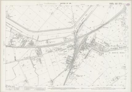 Cheshire XXXVIII.14 (includes: Chester; East Saltney; Marlston cum Lache; Sealand) - 25 Inch Map