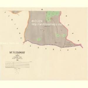 Kunersdorf - c3717-1-003 - Kaiserpflichtexemplar der Landkarten des stabilen Katasters