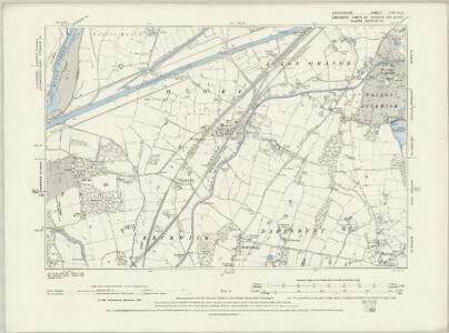 Lancashire CXV.SW - OS Six-Inch Map