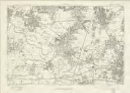Lancashire CXI - OS Six-Inch Map