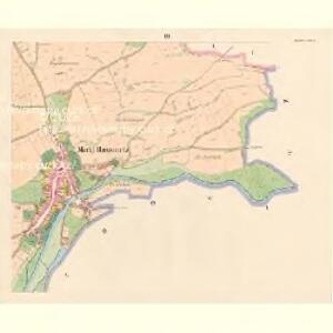 Hussinetz (Hussinec) - c2437-1-003 - Kaiserpflichtexemplar der Landkarten des stabilen Katasters