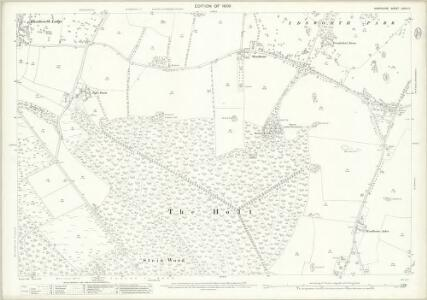 Hampshire and Isle of Wight LXVIII.11 (includes: Horndean; Rowlands Castle) - 25 Inch Map