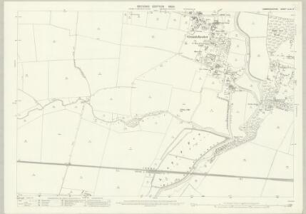 Cambridgeshire XLVII.9 (includes: Barton; Cambridge; Grantchester; Haslingfield) - 25 Inch Map