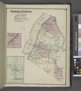 Germantown [Twonship]; Germantown Business Notices.; East Camp Landing [Village]; Germantown [Village]
