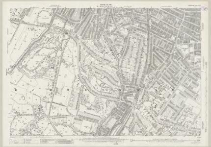 Warwickshire XIV.13 (includes: Birmingham) - 25 Inch Map
