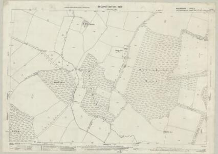 Bedfordshire V.1 (includes: Dean and Shelton; Kimbolton; Pertenhall; Swineshead; Tilbrook) - 25 Inch Map