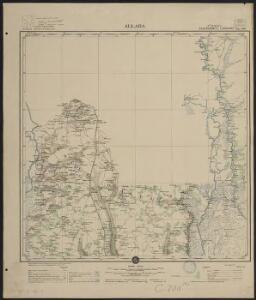 Afrique occidentale française-carte régulière. Allada