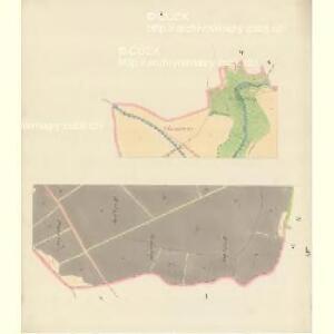 Bisenz (Bzenec) - m0321-1-001 - Kaiserpflichtexemplar der Landkarten des stabilen Katasters