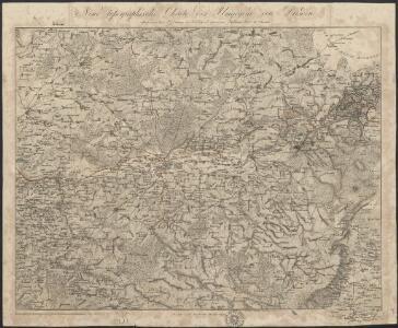 Neue topographische Charte der Umgegend von Dresden