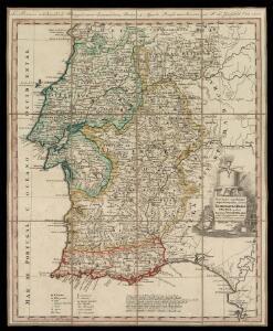Provincias meridionales regni Portugalliae, scilicet Extremadura, Transtagana quibus regnum Algarbiae adiungitur