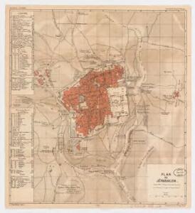 Plan de Jérusalem