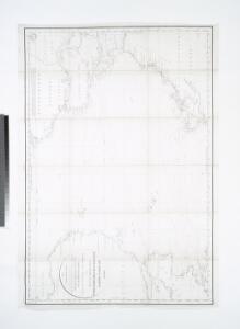 Tableau des courants observés dans l'Océan Atlantique Septentrional, au moyen de bouteilles jetées à la mer. / dressé par P. Daussy, ingénieur hydrographe en chef de la Marine; gravé par Michel; écrit par J.M. Hacq.
