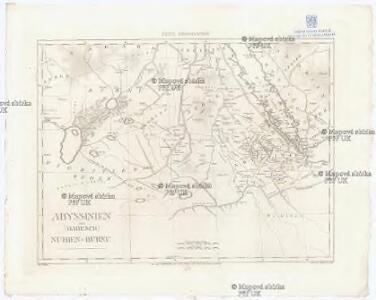 Abyssinien oder (Habesch) Nubien - Burnu