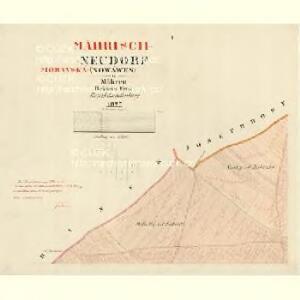 Neudorf (Nowawes) - m1863-1-001 - Kaiserpflichtexemplar der Landkarten des stabilen Katasters