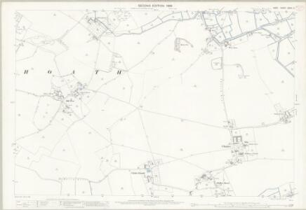 Kent XXXVI.2 (includes: Chislet; Hoath) - 25 Inch Map