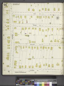 Richmond, Plate No. 95 [Map bounded by Wood Ave., Johnson Ave., Broadway]