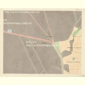 Göding (Hodonin) - m0741-1-015 - Kaiserpflichtexemplar der Landkarten des stabilen Katasters
