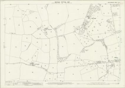 Hertfordshire XIV.15 (includes: Albury; Braughing) - 25 Inch Map