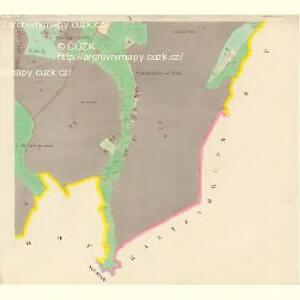 Alt und Neu-Klitschau - c3160-1-008 - Kaiserpflichtexemplar der Landkarten des stabilen Katasters