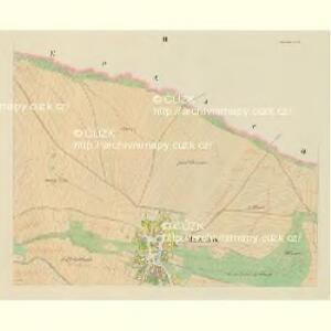 Mazalow - c4537-1-002 - Kaiserpflichtexemplar der Landkarten des stabilen Katasters