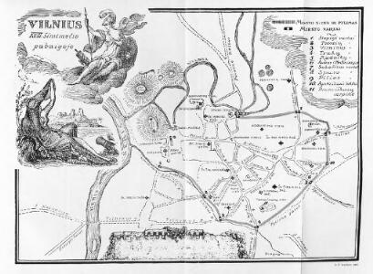 Vilnius. XVIII. šimtmečio pabaigoje