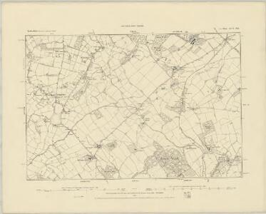 Herefordshire XIII.NE - OS Six-Inch Map