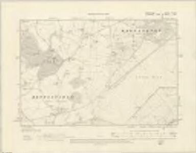 Shropshire VII.SW - OS Six-Inch Map