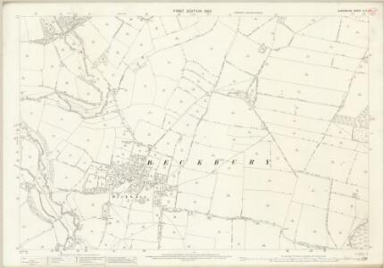 Shropshire LII.2 (includes: Beckbury; Ryton) - 25 Inch Map