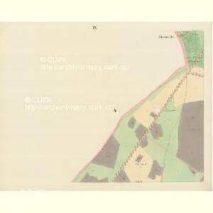 Bisenz (Bzenec) - m0321-1-008 - Kaiserpflichtexemplar der Landkarten des stabilen Katasters