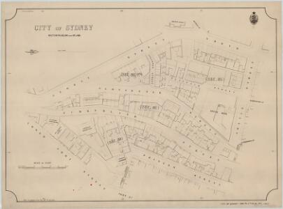 City of Sydney, Sections 85,86, (part) 87 & 88, 1889