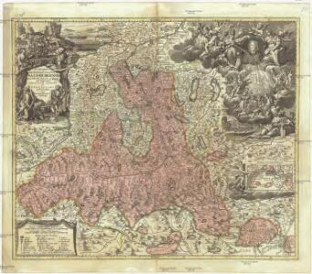 S.R.I. principatvs et archiepiscopatus Salisburgensis cum subjetis, insertis, ac finitimis regionibus