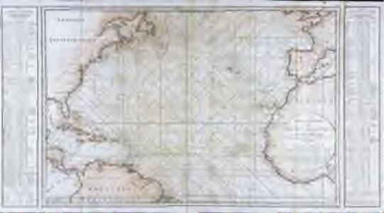 Carte générale de l'océan Atlantique ou Occidental