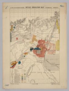 Pomona.  Detail Irrigation Map.