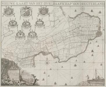 Nieuwe kaart van het Dykgraafschap van Dregterland