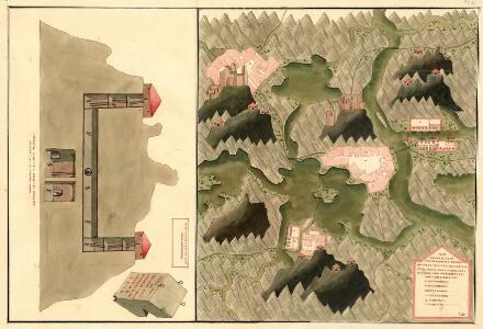 Plan des Anno 1751 von Herren von ferner in Unter Carnten neüenteckten Silber Bergwergs, Ober Trüxen, und Weisenburg, 3 meil von Glagenfurt