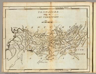 Tennassee: lately the S.Wn. Territory.