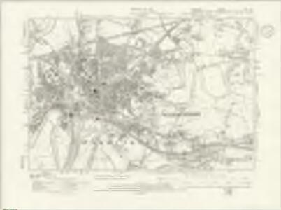 Cheshire XVI.NE - OS Six-Inch Map