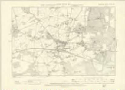 Berkshire XXXIX.SW - OS Six-Inch Map