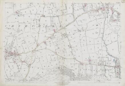Somerset XVIII.1 (includes: Burrington; Churchill; Winscombe) - 25 Inch Map
